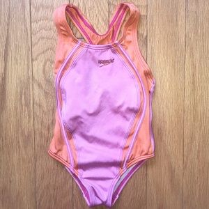 Speedo Racerback Bathing Suit Swimsuit Size 4